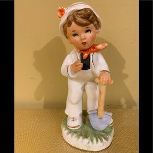 Vintage Sutton's Creations From Japan Ceramic Boy
